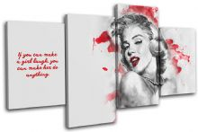 Marilyn Monroe Iconic Celebrities - 13-6022(00B)-MP04-LO